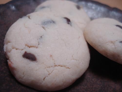 ココナッツとチョコチップのクッキー